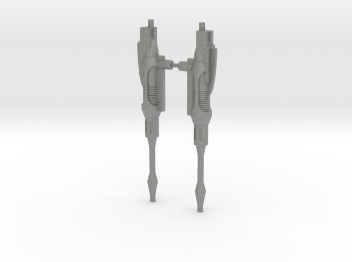Seeker Cannons 3d printed