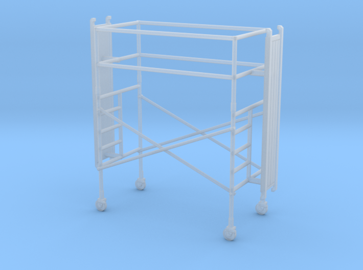 1/87 Scaffold single stage 3d printed