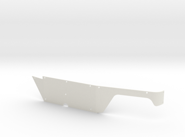 Left Body Panel (Type-T) for Micro Shark 3d printed