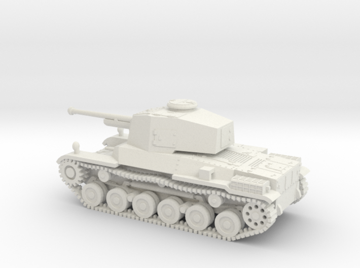 1/87 IJA Type 3 Chi-Nu Medium Tank 3d printed