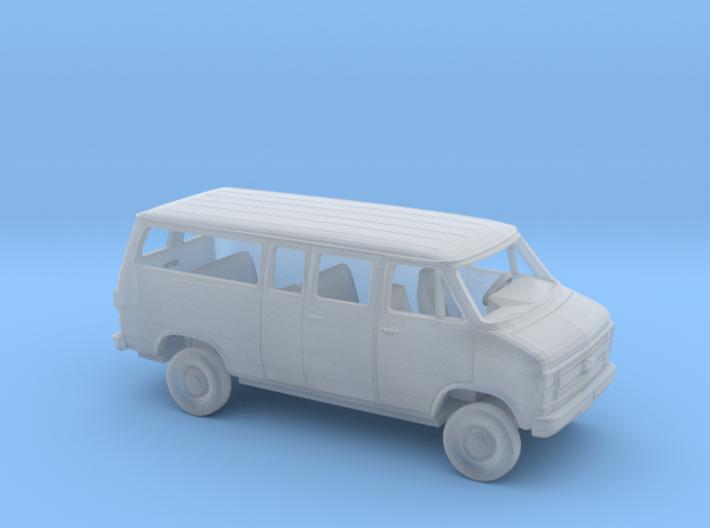1/160 1984 Chevy G Van Ext Split Side Rear DoorKit 3d printed