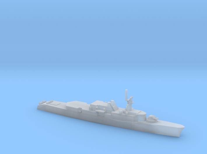 1/1800 Scale HMCS Annapolis DDH 265 3d printed