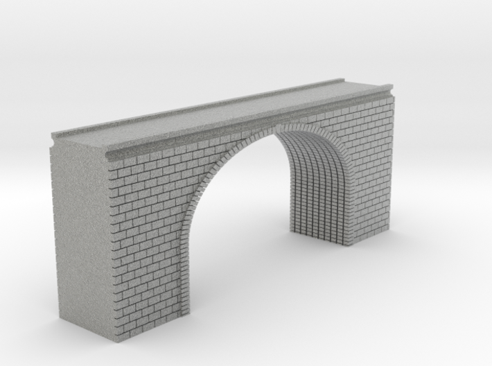N Scale Arch Bridge Double Track 1:160 3d printed