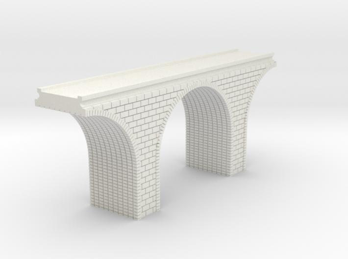 N Scale Arch Bridge Single Track 1:160 3d printed