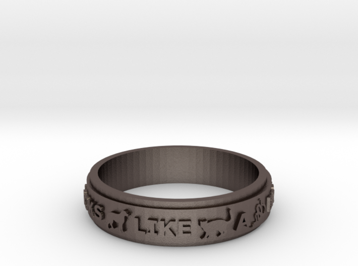 /an/Ring size 9 3d printed