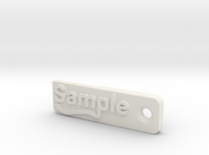 Material Sample - Sample Stand (ALL MATERIALS) 3d printed
