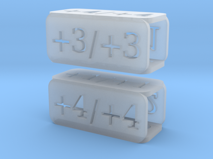 Counters for Magic MTG x2 3d printed