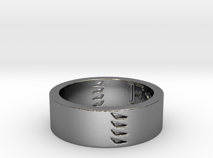 Explorers Ring Size 8 3d printed