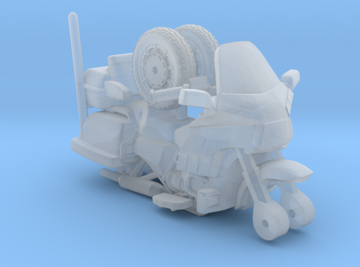 1-64 Scale Motorcycle Cruiser 3d printed