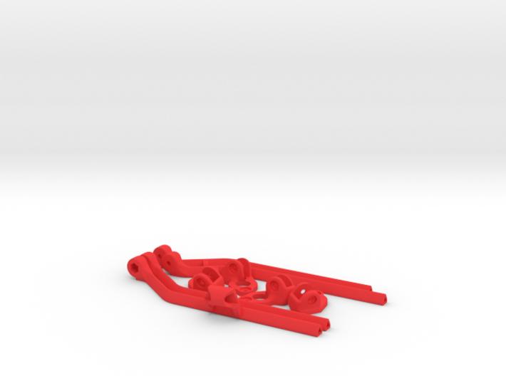 DJI Phantom Widened Foldable legs V2 3d printed