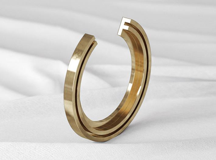 F Ring 3d printed