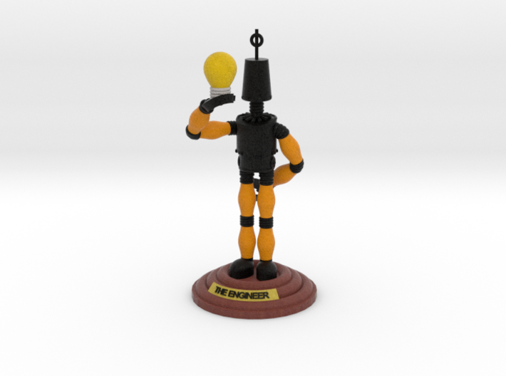 boOpGame Shop - The Engineer 3d printed boOpGame Shop - The Engineer