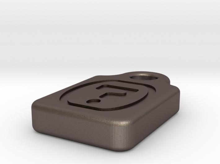 microSDNecklaceQmark 3d printed