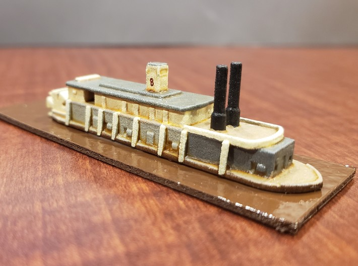 1/600 USS Signal 3d printed Painted by David Wallace Kent