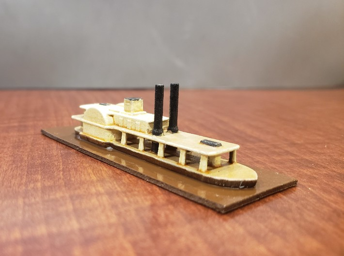 1/600 Transport Steamer Chickamauga 3d printed Painted by David Wallace Kent
