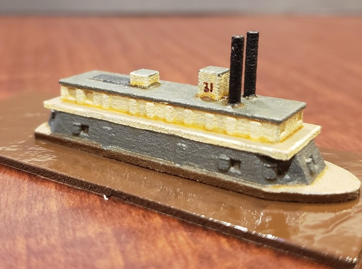 1/600 USS Paw Paw 3d printed Painted by David Wallace Kent