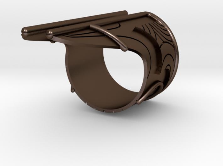 Bakara Ring Size 10 3d printed