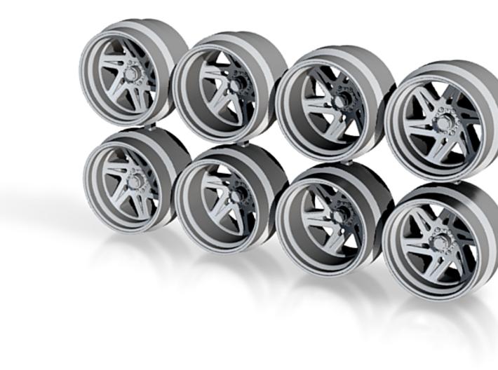 FF56 11-3 11mm Offroad Truck SUV Hot Wheels Rims 3d printed