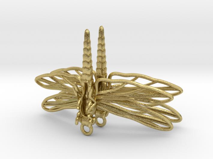 Dragonfly Earrings Large 3d printed