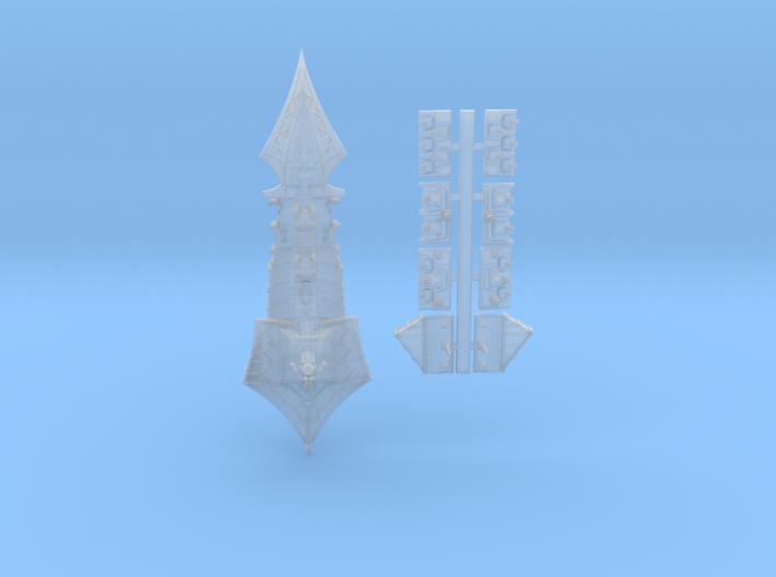 Tzeechen_2_cruiser 3d printed
