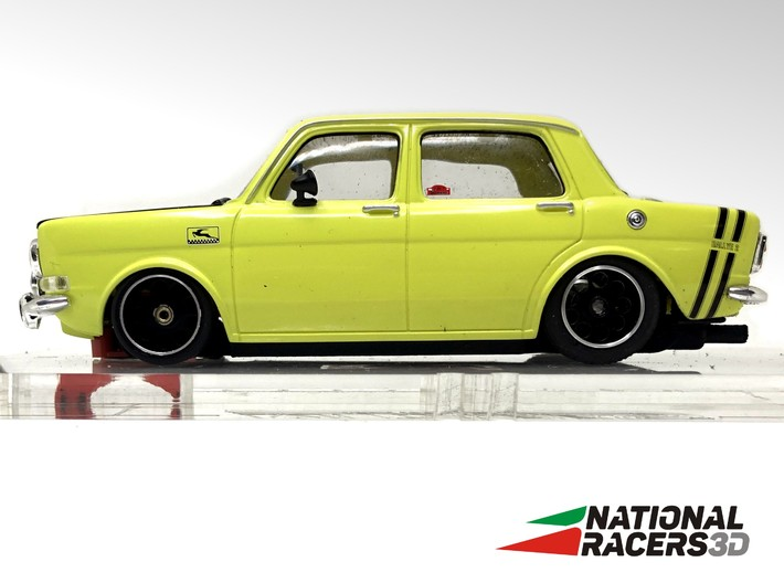 Chassis Revell SIMCA 1000 Rallye 2 (Narrow-In-AiO) 3d printed