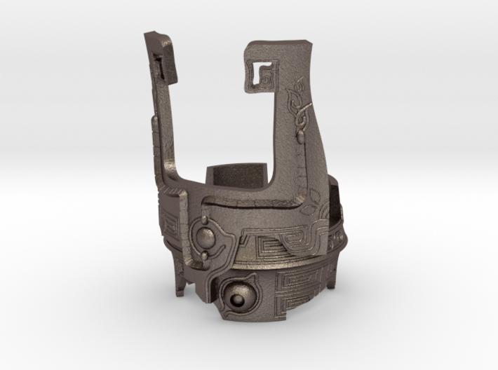 Fused Shadow Ring 3d printed