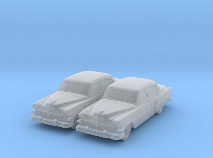1954 Chevy 4 Door Bel-air (2) N Scale Vehicles 3d printed