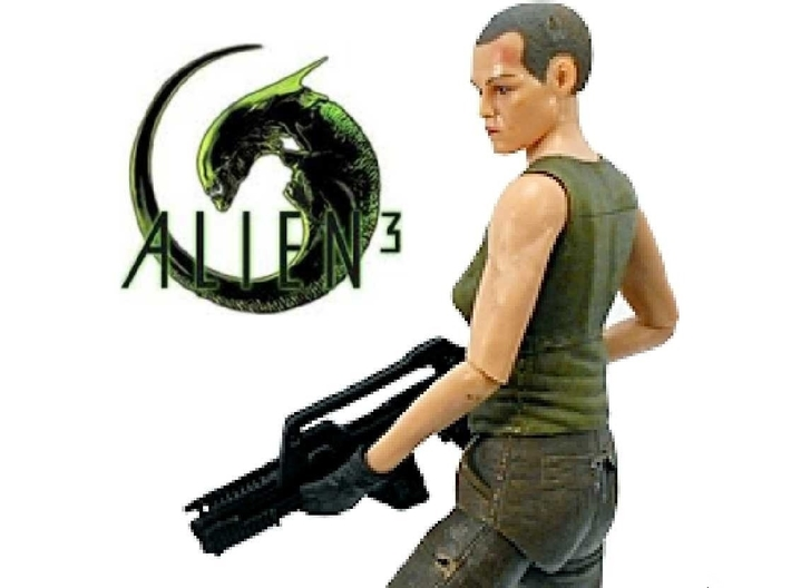 Alien 3 Ripley 1/60 miniature for games and rpg 3d printed
