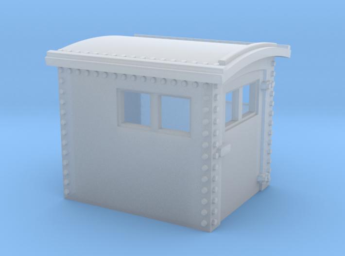 N&W Style Dog House O Scale 1:48 3d printed
