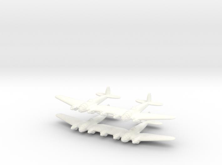 He-111Z Bomber= 1/700 (x2) 3d printed