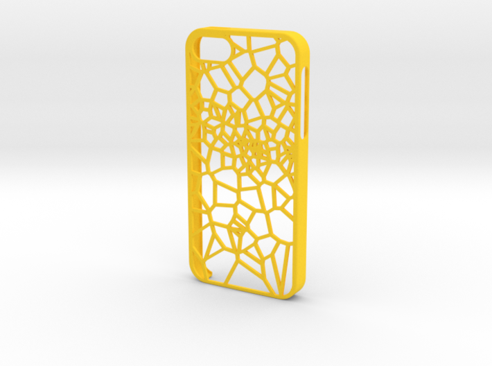 iPhone 5/5s Fracture Case 3d printed