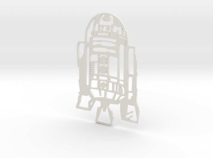 R2D2 Wall Hanging 3d printed