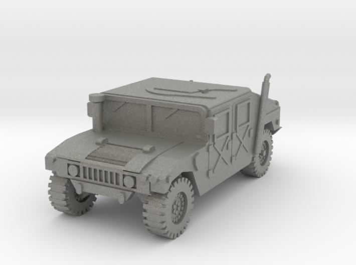 1/100 HMMWV car (low detail) 3d printed