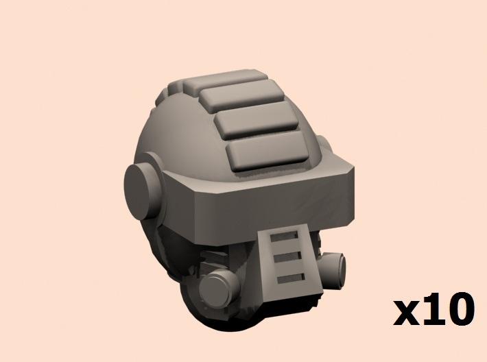 28mm Drop guard heads 3d printed