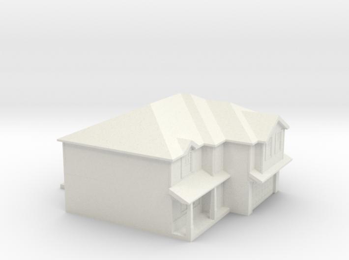 House ornament (plastic experiment) 3d printed