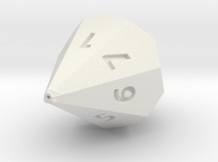 D7 dice 3d printed