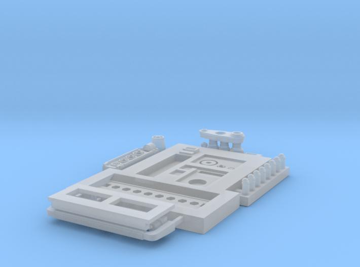 Moebius EVA Pod - Multi-part Back Panel 3d printed