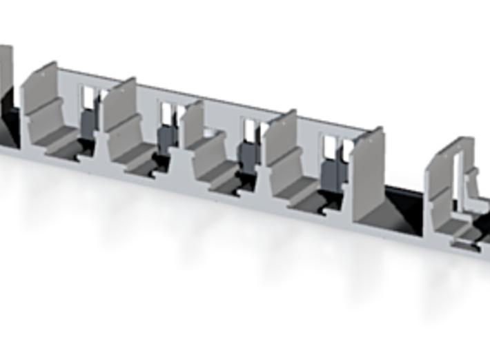 Interieur Plan-E 1e klas 3d printed