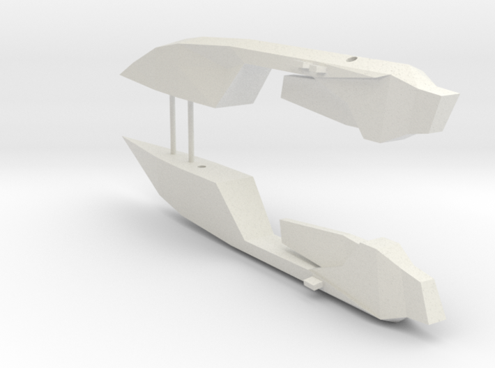 1/1000 Serpens Destroyer (Kit Part #3) Nacelles 3d printed