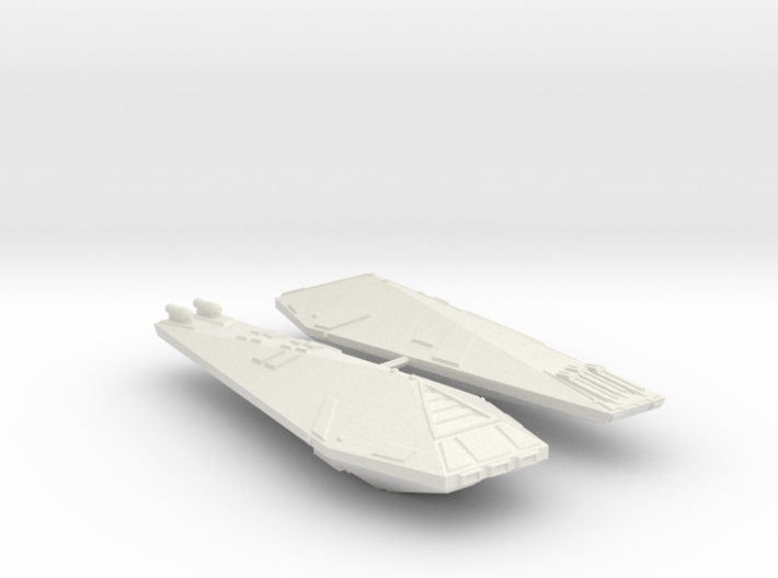 3125 Scale Hydran Destroyers (2, Mixed) CVN 3d printed
