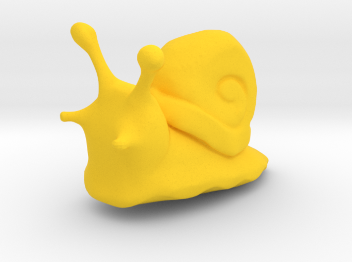 A little snail 3d printed