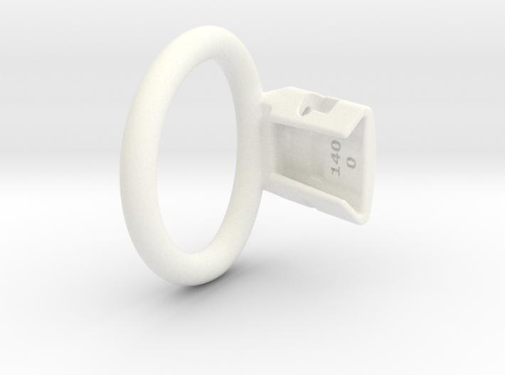 Q4e single ring 44.6mm 0mm gap 3d printed