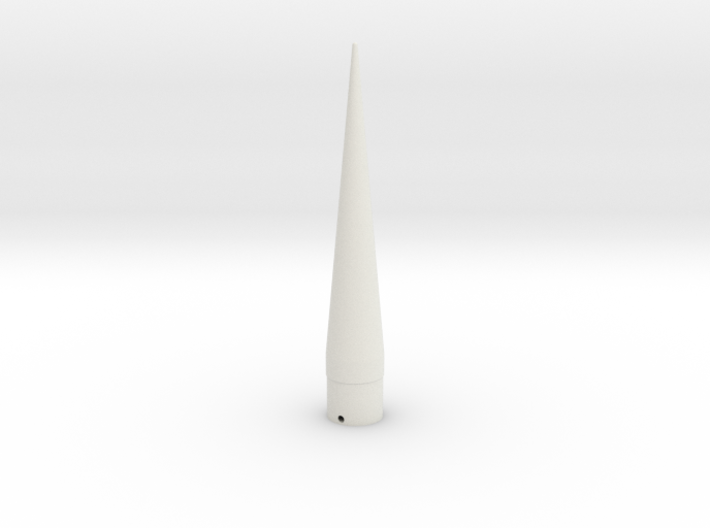 Classic estes-style nose cone BNC-50AR replacement 3d printed