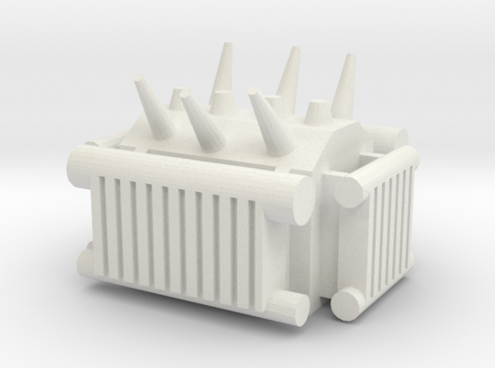 Electrical Transformer 1/56 3d printed