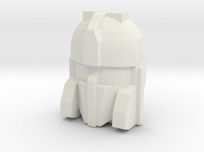 Cerebros Face, 4cm Version 3d printed