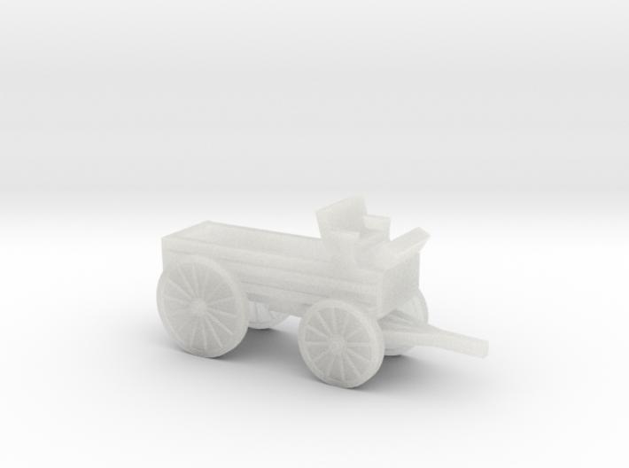 Z Scale Buckboard 3d printed