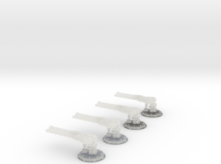 Minimax Kombiwerfer 4x 3d printed