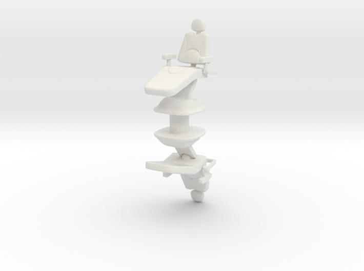 Dentist Chair (x2) 1/48 3d printed