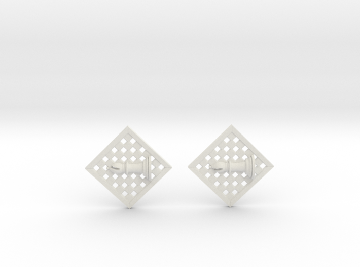 Chess Earrings - Bishop 3d printed