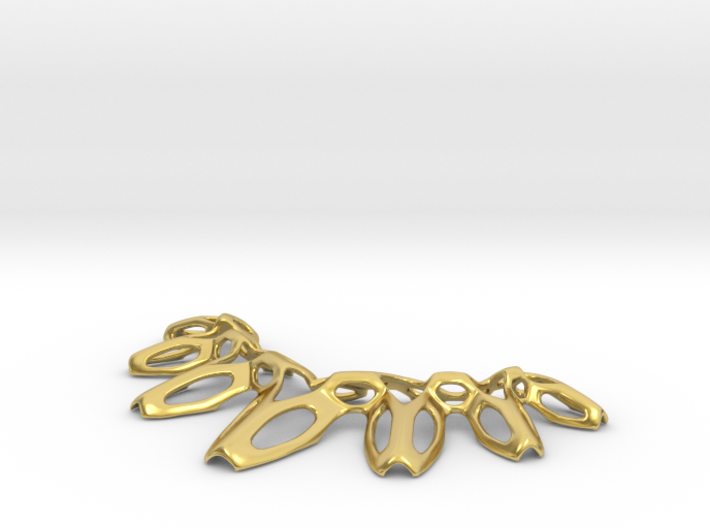 SharpSpikes Necklace 3d printed